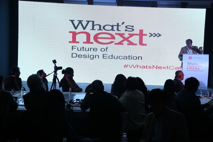 """Looking into the """"Future of Design Education"""" in world cafe style confluence"""