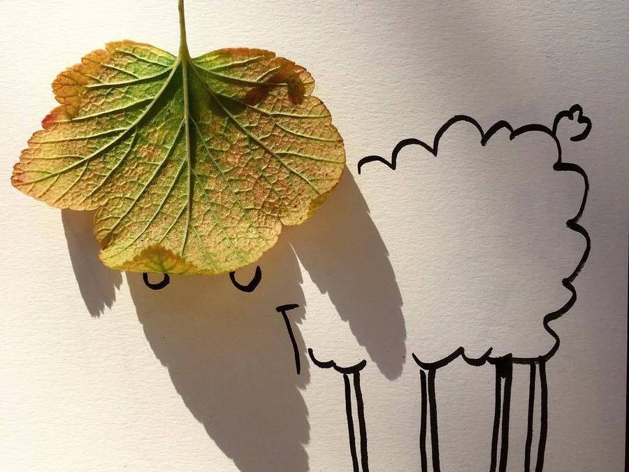 Clever Illustrations that Play with Shadows