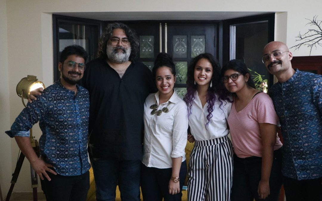 A day at the sets of 'The Creative Indians with ManilRohit'