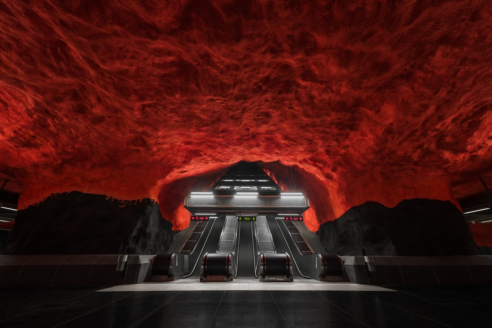 A Sight to Behold: the Stockholm Metro