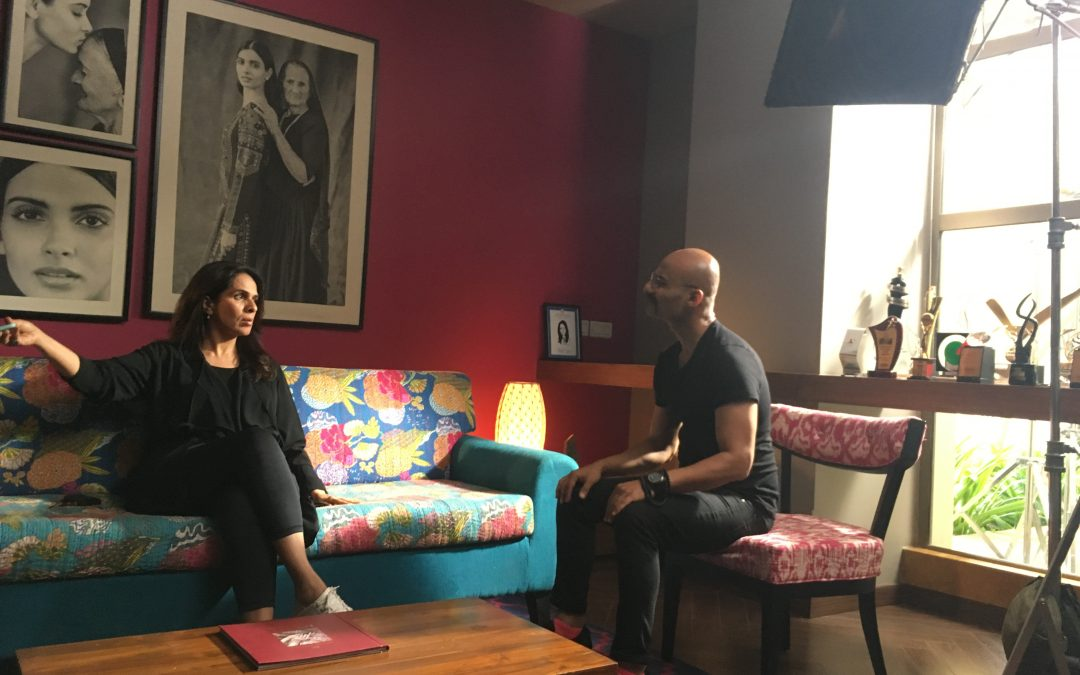 BTS with Anita Dongre